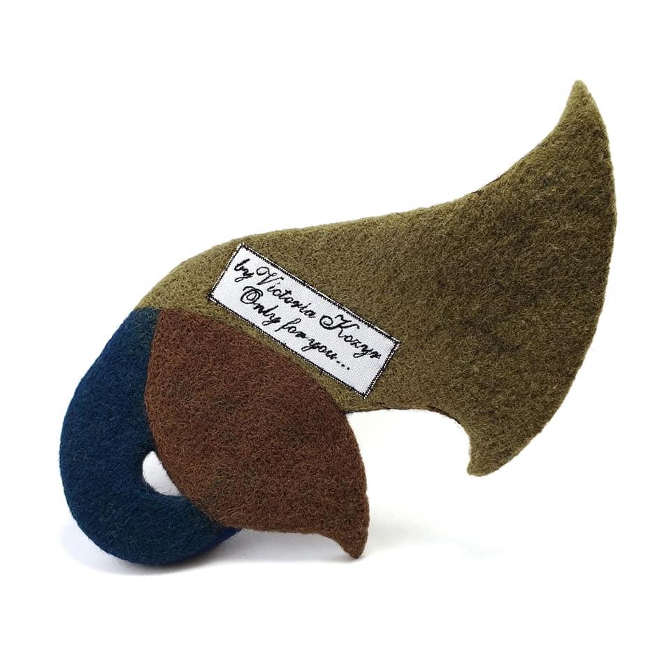 Арт-шляпка